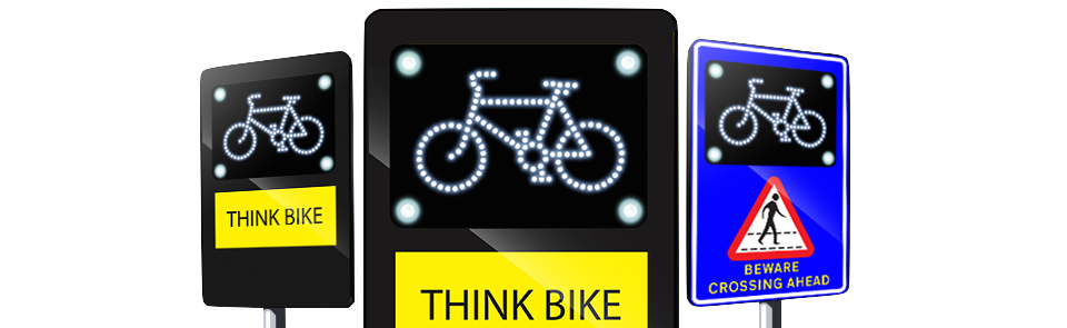 Cycle Safety Sign